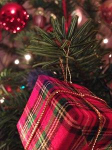 Foto Weihnachtsbaumausschnitt