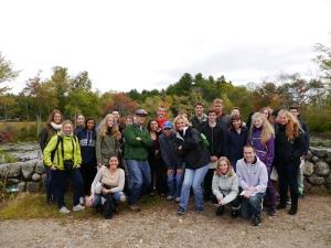 """Projekt """"Nachhaltigkeit"""" im Ipswich River Wildlife Sanctuary"""