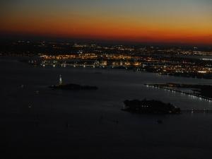 Blick vom One World Trade Center