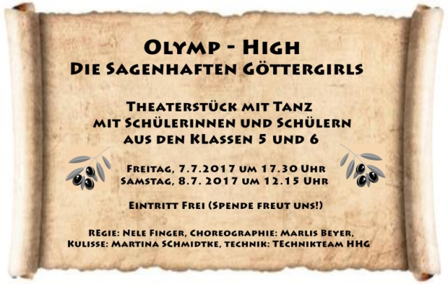 Poster Göttergirls